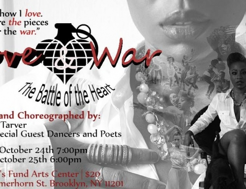 "Giving Thanks for Keomi Tarver's ""Love & War"""