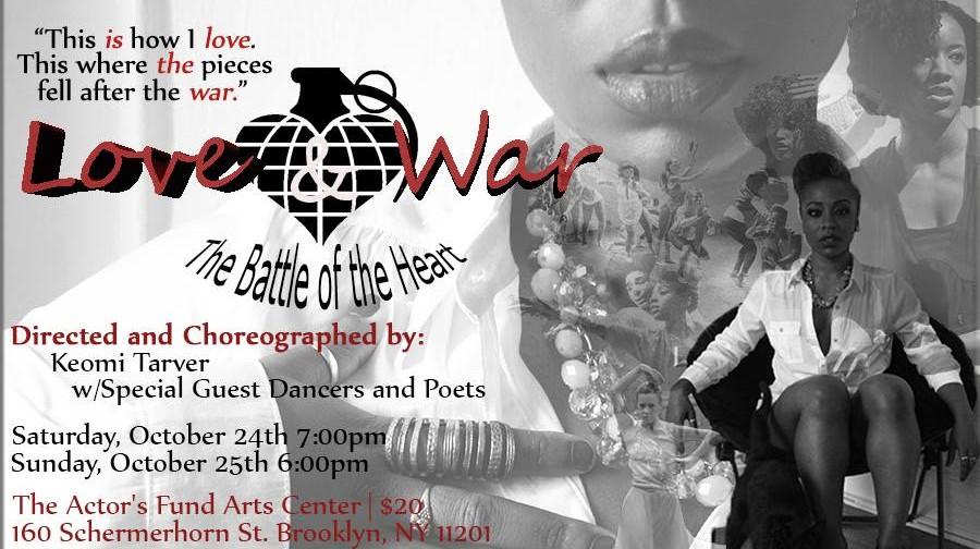 "Giving Thanks for Keomi Tarver's ""Love & War"""